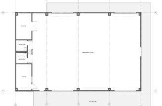 Floor Plan Lee Junior High Weight Room