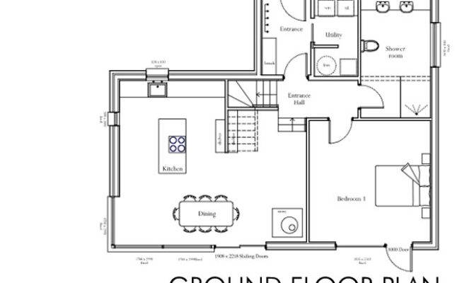 Floor Plan Self Build House Building Dream Home