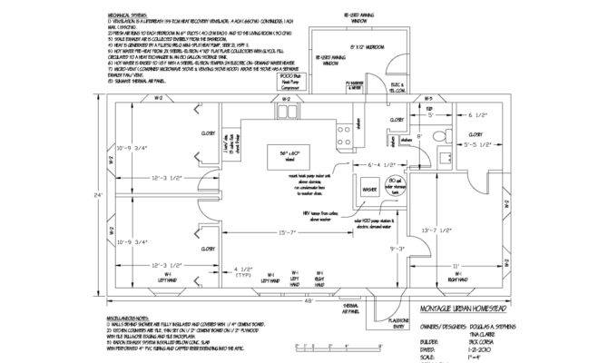 Floor Plan Ways Passive House Design Different Than Normal Home