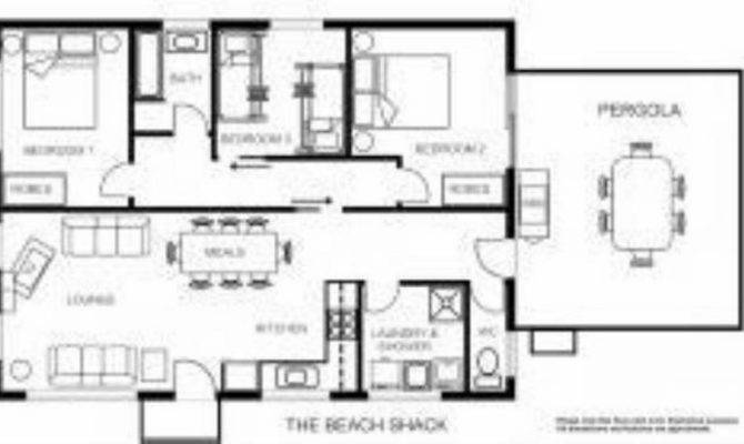 Floor Plans Beach House Pole
