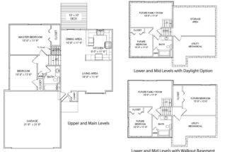 Floor Plans Front Elevations