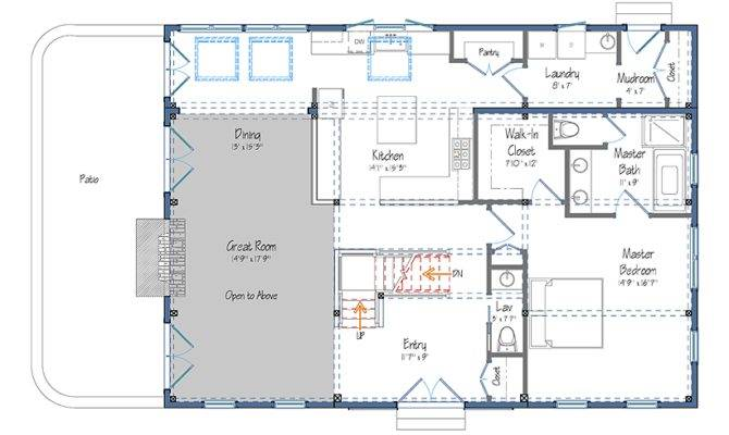 Floor Plans Haley Barn Style Carriage House Plan Home