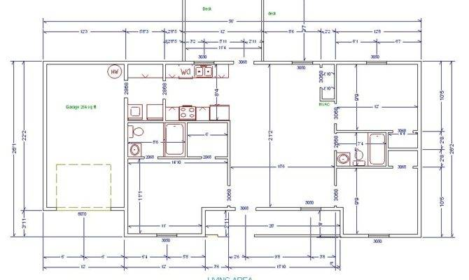 Floor Plans Measurements House Plan