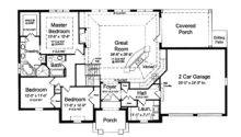 Floor Plans Open Plan Hwbdo French Country House