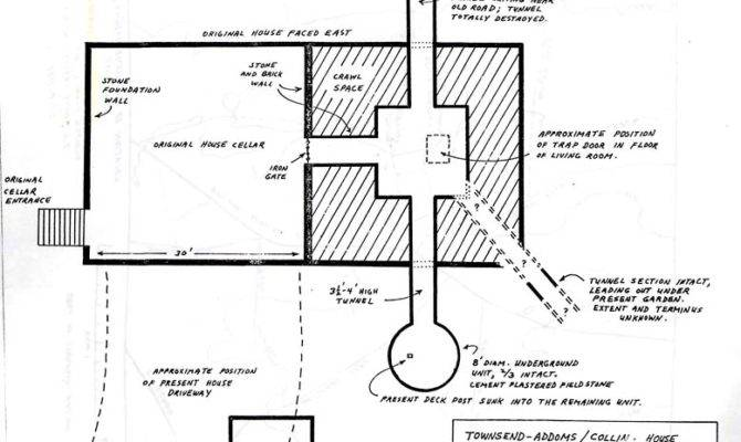 Floor Plans Underground Railroad Safe Houses
