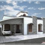 Floor Villa Feet Kerala Home Design Plans