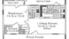 Flooring Floor Plans Small Houses Rear Porch