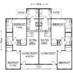 Flooring Simple Duplex Floor Plans Design
