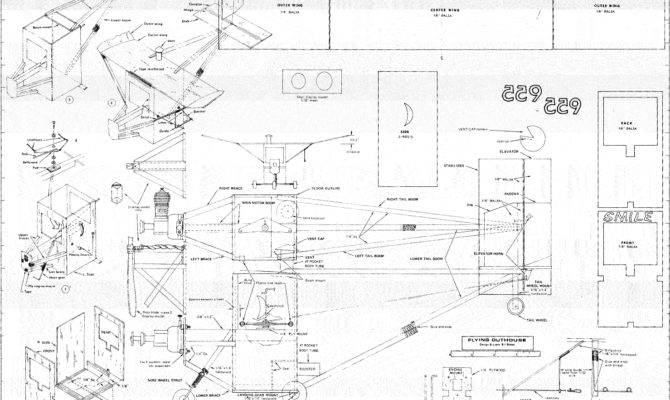 Flying Outhouse Article Plans April American Aircraft Modeler