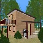 Foot Tiny Home Still Has All Necessary House