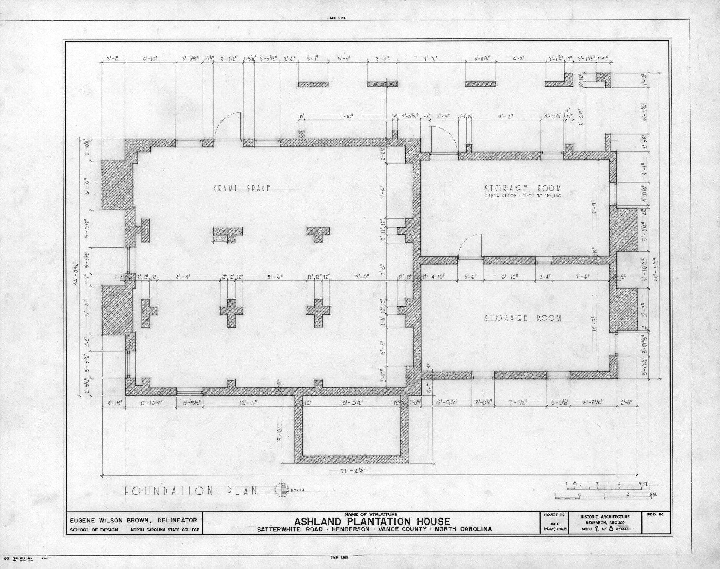 Sample House Foundation Plans House And Home Design