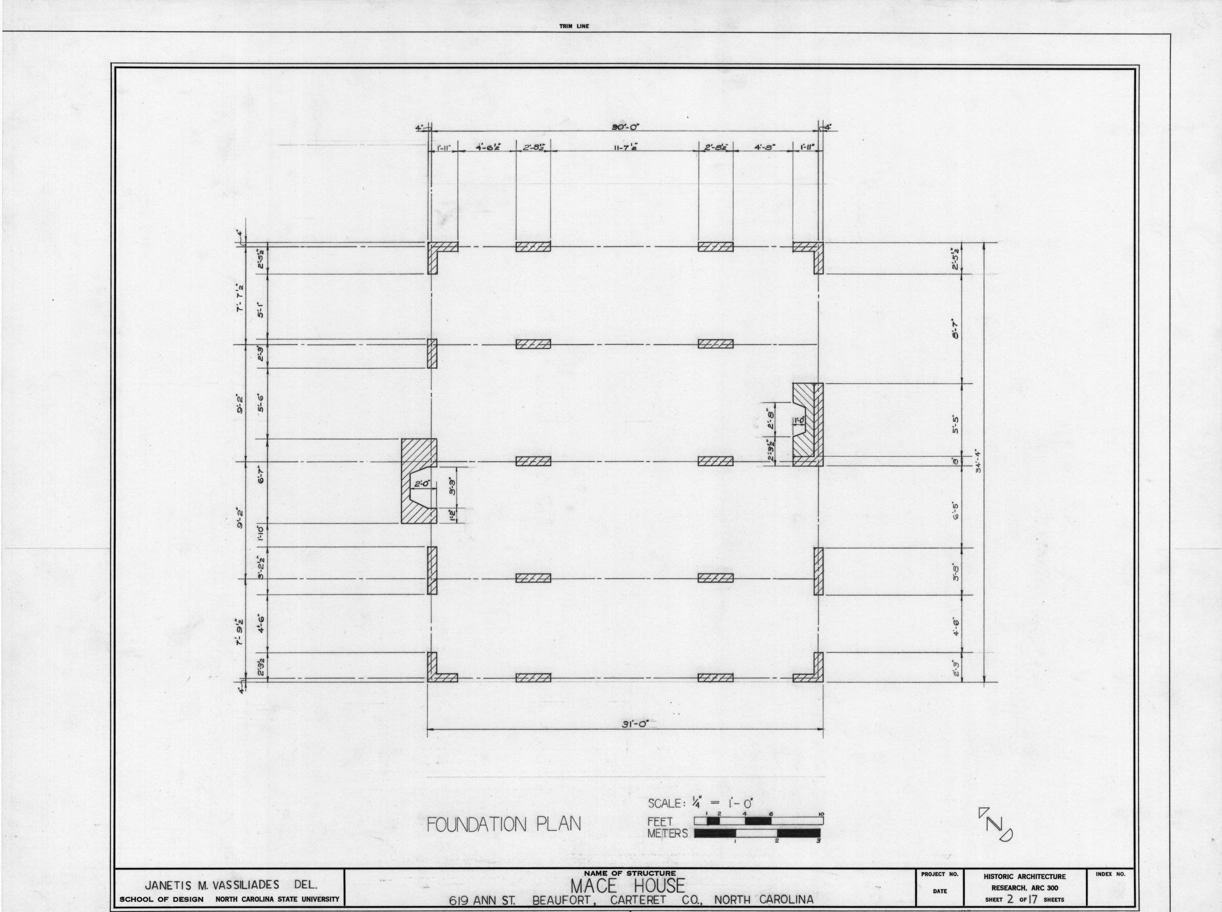 Typical House Foundation Plan Idea Home And House