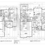 Foundation Plans Houses House Drafting Magnum Group