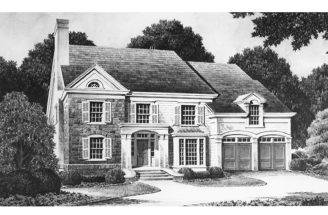 Four Bedroom Colonial Revival