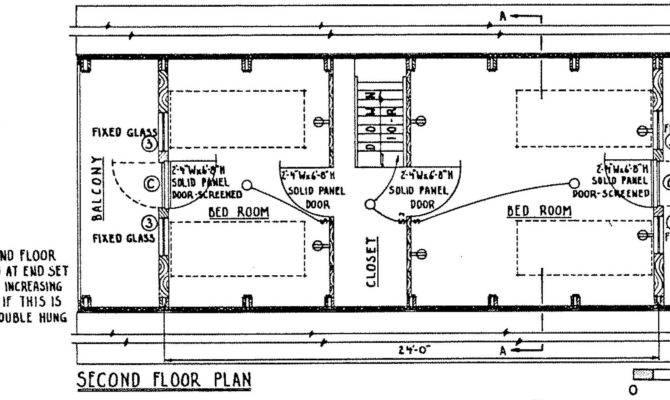 Frame Cabin Floor Plans House Design Plan