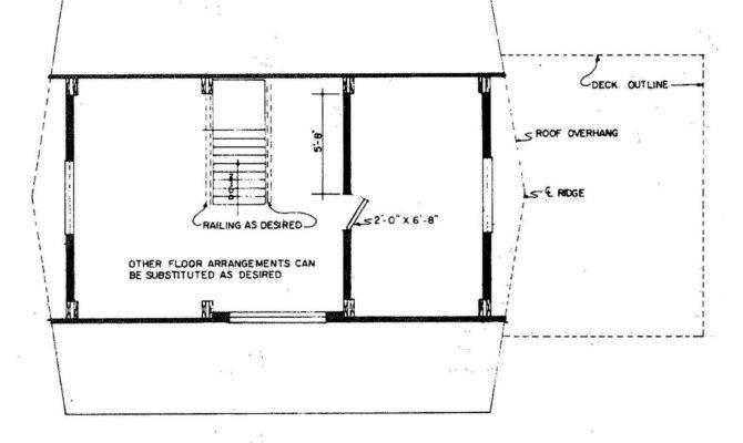 Frame House Left Floor Plan