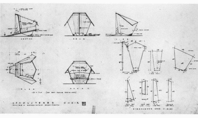 Frank Lloyd Wright Origami Chair Plans Pdf Modern Furniture
