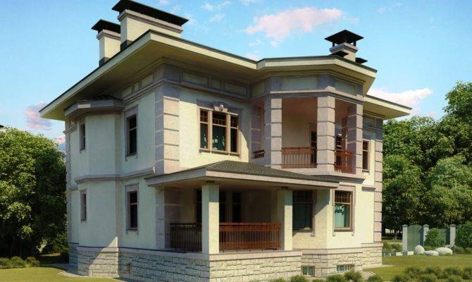 Front Elevation Europe Design House