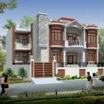 Front Elevations Residential Buildings Houses Plans Designs