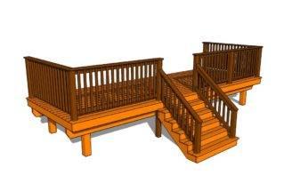 Front Porch Howtospecialist Build Step Diy Plans