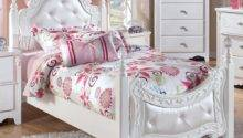 Furniture Exquisite Twin Poster Bed Kids