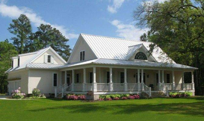 Future Farmhouse Wrap Around Porch Paradise Country Home
