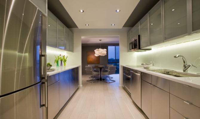 Galley Kitchen Configuration Efficient Two