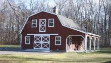 Gambrel Roof Barns