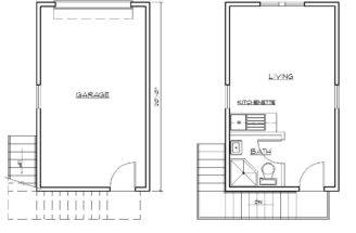 Garage Apartment Sample Plan