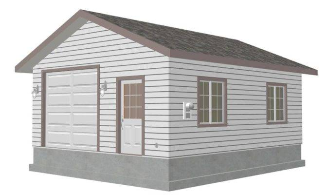 Garage Custom Plan Sheds Plans