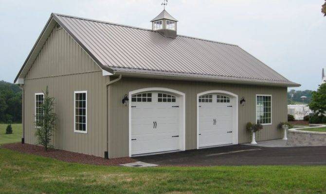 Garage Ideas Barn Gambrel Shed Project Plans