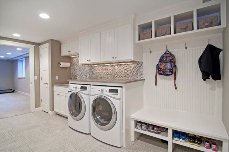 garage laundry room ideas best design home building