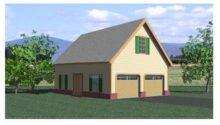 Garage Loft Plans Country Style Plan