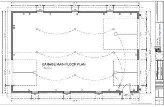 Garage Plan Custom Block Plans