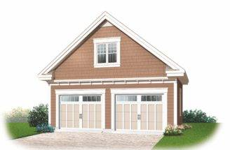 Garage Plans Loft House Design Connection Llc