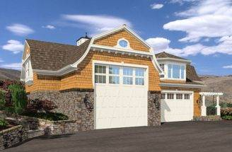 Garage Plans Plan Second Floor Apartment Design