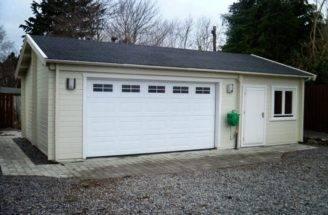 Garage Premium Forest Log Cabins