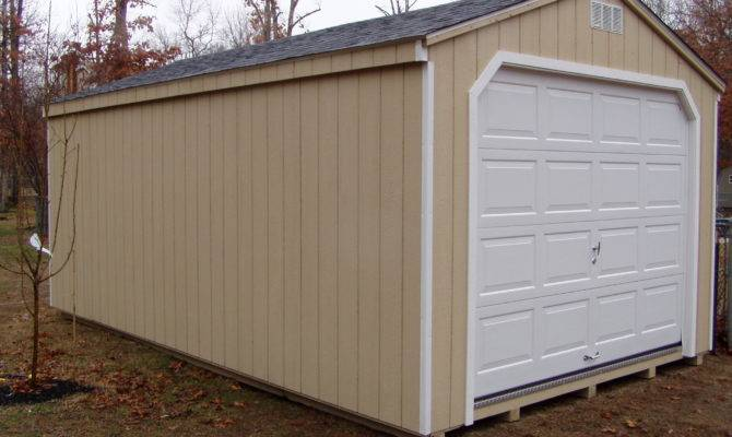 Garage Shed Plans Kits