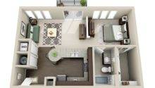 Gateway West Apartment Floor Plan
