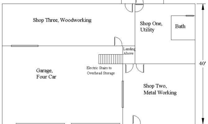General Automotive Building Features Generous Open Floor Plans