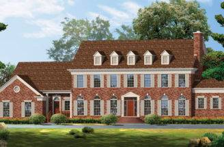 Georgian Home Plans Style Designs Homeplans