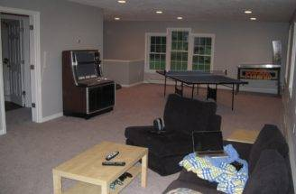 Gessner Son Carpentry Llc Car Garage Game Room