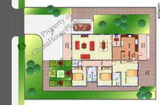 Ghana House Plans Country Side Plan