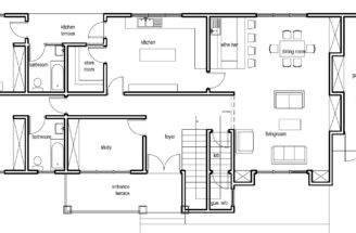 Ghana House Plans Nanaheema Ground Floor Plan