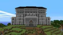 Giant Mansion House Manor Home Minecraft Project