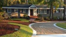 Great Exterior Landscape Ideas Ranch Style Homes