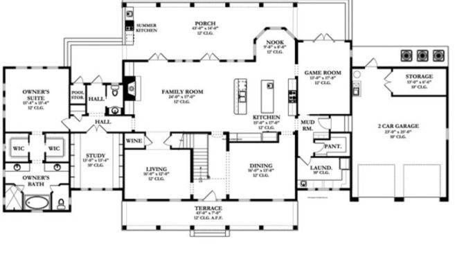Great Large House Plans Pinterest