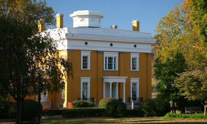 Greek Revival House Museums Old