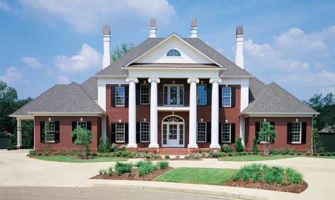 Greek Revival Style Home National House