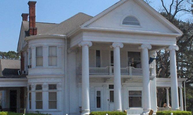 Greek Revival Style Homes Home Exterior Design Ideas